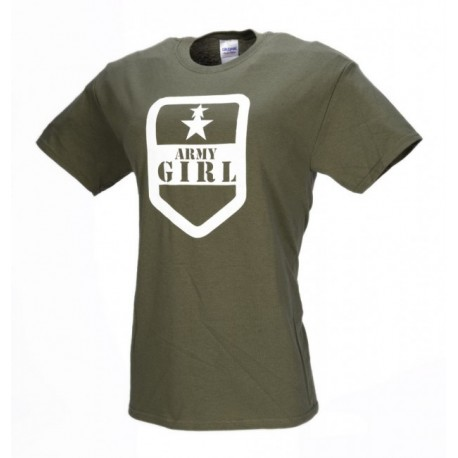c792465beae7 M- Tramp dámske tričko ARMY GIRL