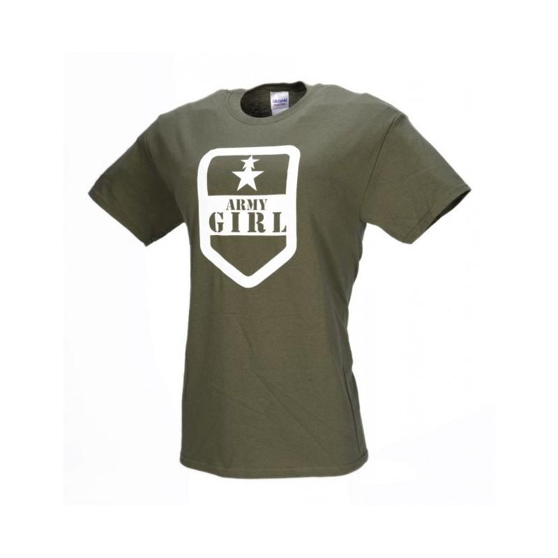 e73606faa99e M- Tramp dámske tričko ARMY GIRL
