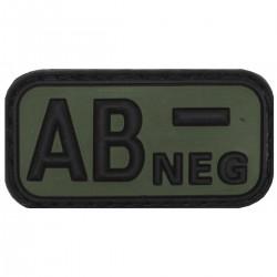 Nášivka krvná skupina AB NEG