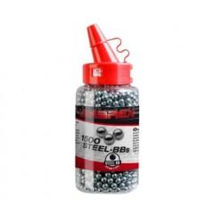 Umarex oceľové guličky 1500ks, kal. 4,5mm BB