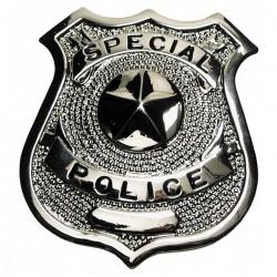 Kovový odznak POLICE