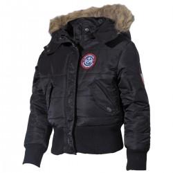 Detská zimná bunda US s kožušinou