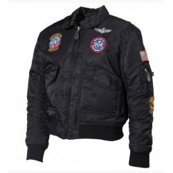 Detská zimná bunda US pilotka