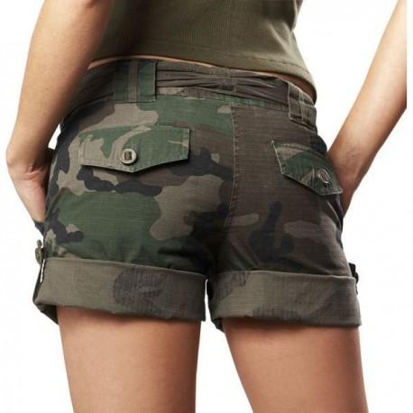 ca2088eaa51 Mil-tech Army dámske maskačové kraťasy
