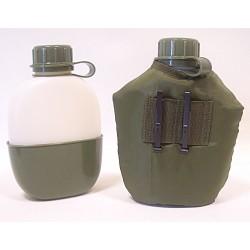 Poľná fľaška a ešuš norskej armády 0,9l