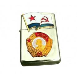 Benzínový zapaľovač Lenin