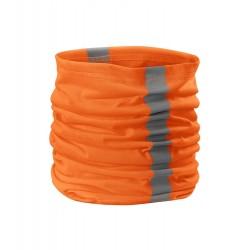 Šál-tunel reflexný univerzálny HV Twister oranžová98
