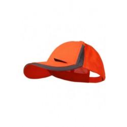 Šiltovka ELY reflexná so sieťkou,oranžová