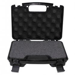 Kufrík na zbraň zatvárací malý čierny