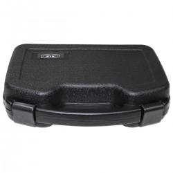 Kufrík na zbraň zatvárací veľký čierny