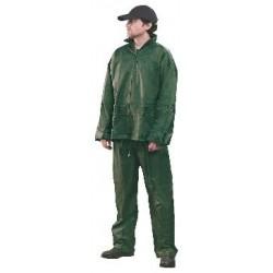 Oblek pracovný nepremokavý PROFI zelený
