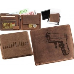 Peňaženka kožená - GLOCK