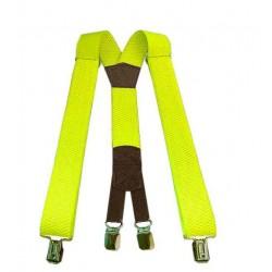 Traky na nohavice JAZZY STYLE neonová žltá