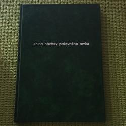 Kniha návštev poľovného revíru - A4