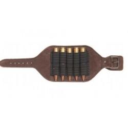Kožené púzdro na ruku pre guľové náboje