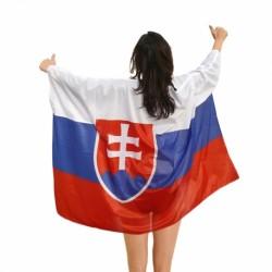 Vlajka SLOVENSKO plášt 100x150 cm