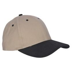 čapica M-Tramp čierna,béžová
