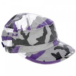 čiapka fialová