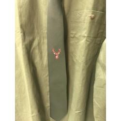 Poľovnícka kravata - jeleň hnedý