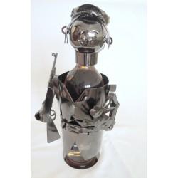 Stojan na fľašu - poľovník