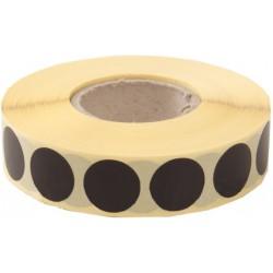 Terčové zálepky 10 mm, čierne