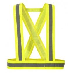 Vesta-križ pracovná reflexná žltá UNI
