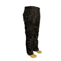 Zateplené nohavice Loshan night camo