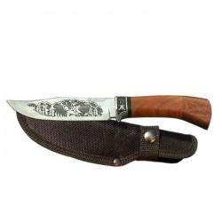 Lovecký nôž s motívom
