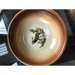 Keramická poľovnícka gulášová miska