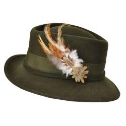 Vodeodolný dámsky poľovnícky klobúk