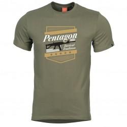 Pánske tričko PENTAGON® ACR - zelené