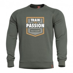 Mikina Hawk Train Your Passion PENTAGON® - zelená