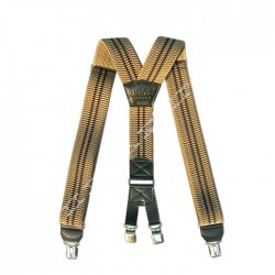 Traky na nohavice - bledohnedé