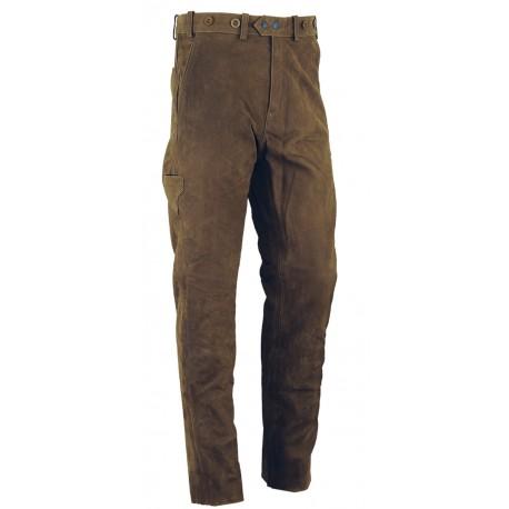 Kožené nohavice OLIVE