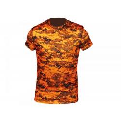 Tričko HART PIXEL, oranžové