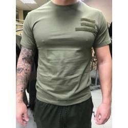 Tričko vojenské s hodnostným označením