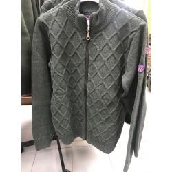 HUBERTUS - dámsky sveter, zelený