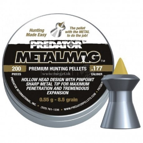 JSB Predator Metalmag 4,50mm 200ks