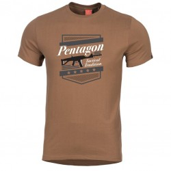 Pánske tričko PENTAGON® ACR - hnedá