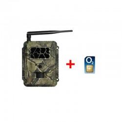 Fotopasca TETRAO Spromise S328 30Mpx 940nm MMS/4G - O2 SIM karta ZADARMO
