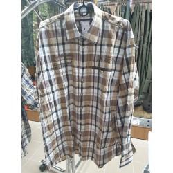 Pánska kockovaná košeľa Orbis Trachten s poľ. výšivkami