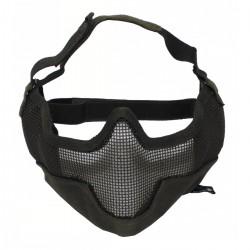 Maska AIRSOFT zo sieťoviny olivová